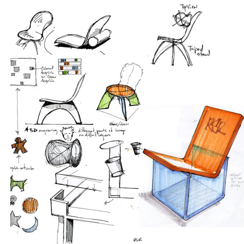 Chair Design Drawings Chair Design Sketch